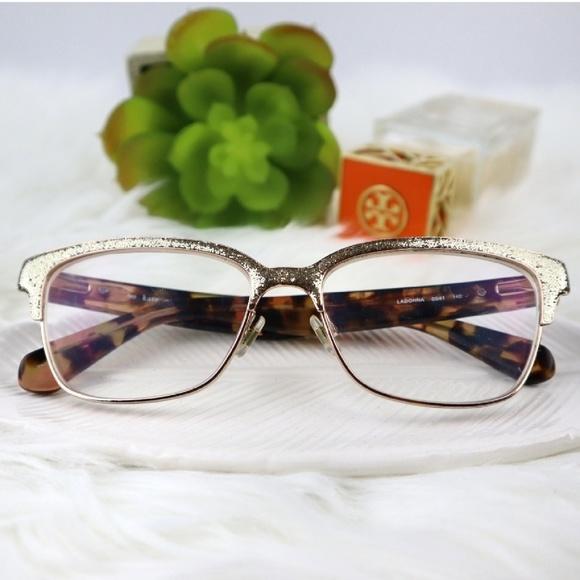 9a0646e2bb kate spade Accessories - Kate Spade Ladonna Gold Glitter Eye Glasses